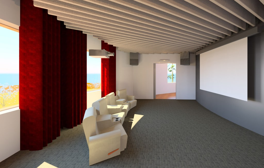 Second Floor Home Theater